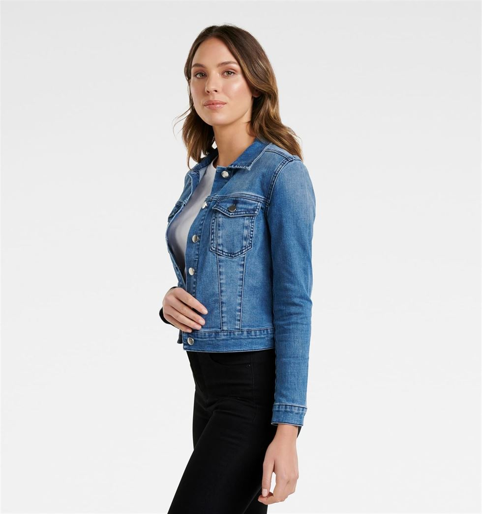 Forever New Women Casual Wear Blue Jacket