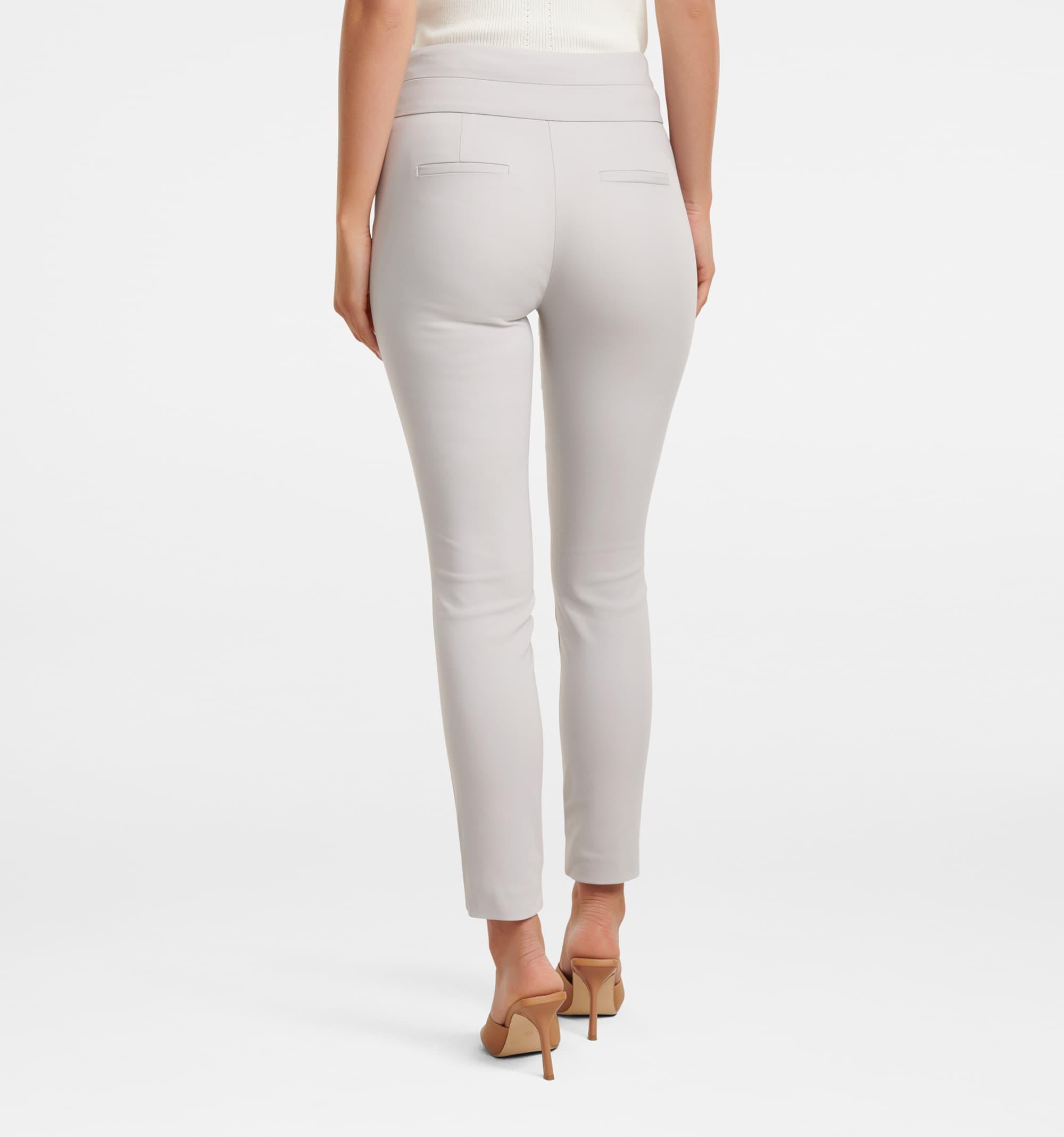Forever New Women Casual Wear Grey Trouser