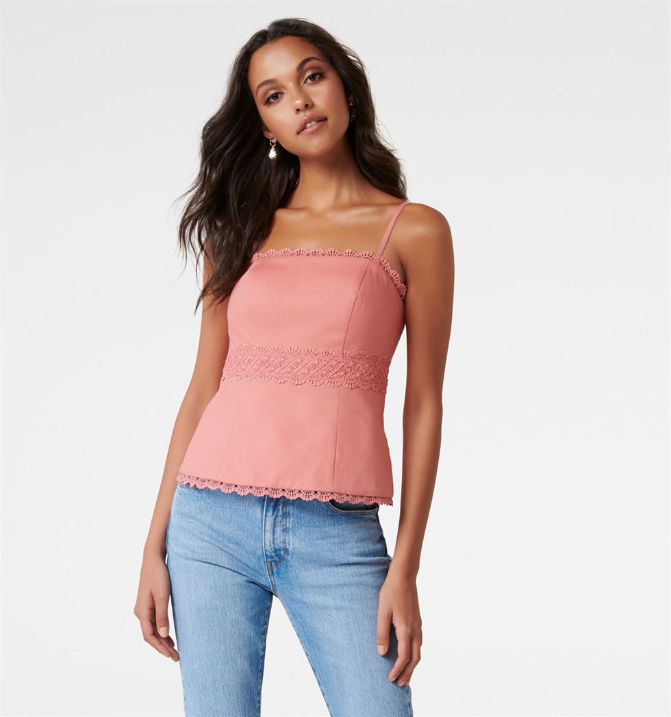 Forever New Women Casual Wear Pink Top