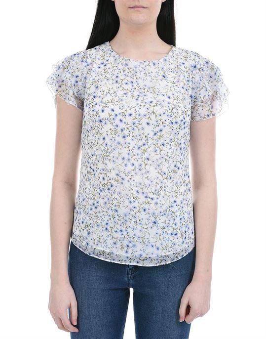 Forever New Women Casual Wear White Regular Top