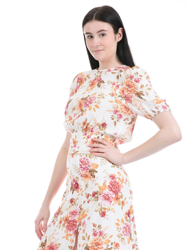 Forever New Women Casual Wear Multicolor Fit & Flare Dress