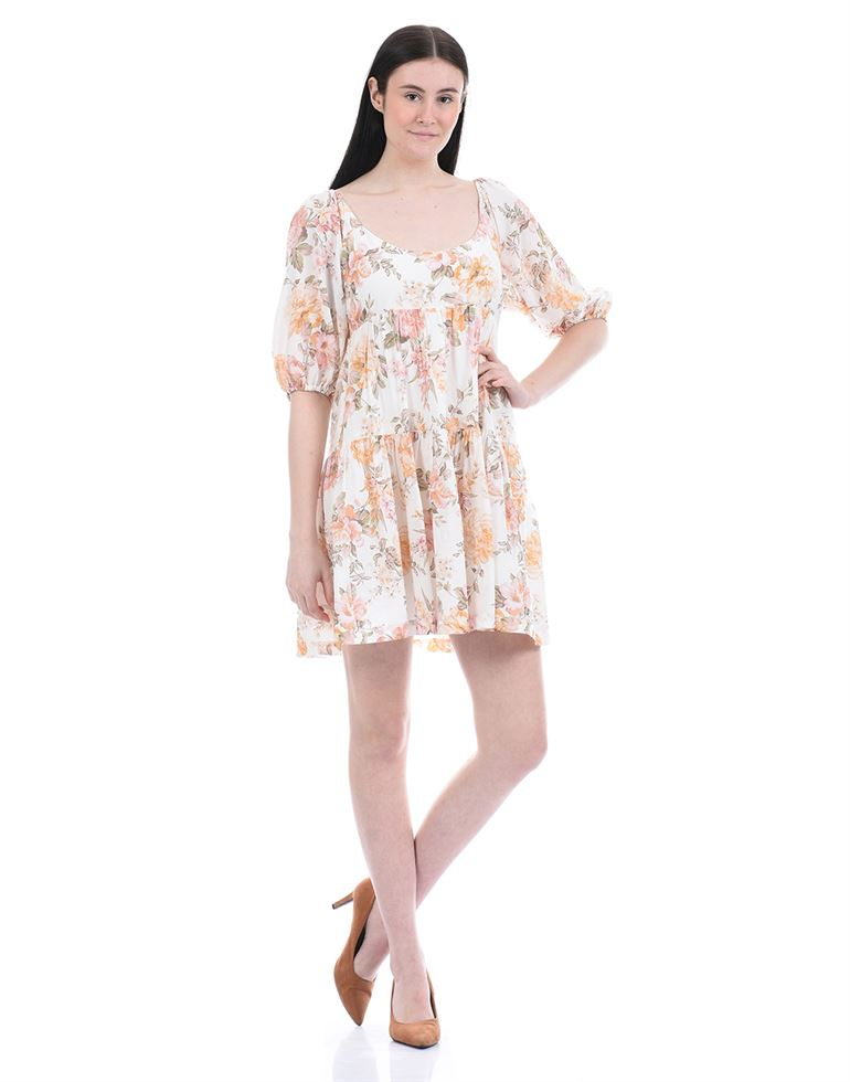 Forever New Women Casual Wear Multicolor A-line Dress