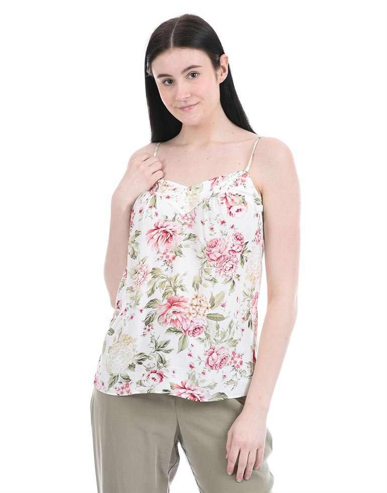 Forevernew Women Party Wear White Cami Top