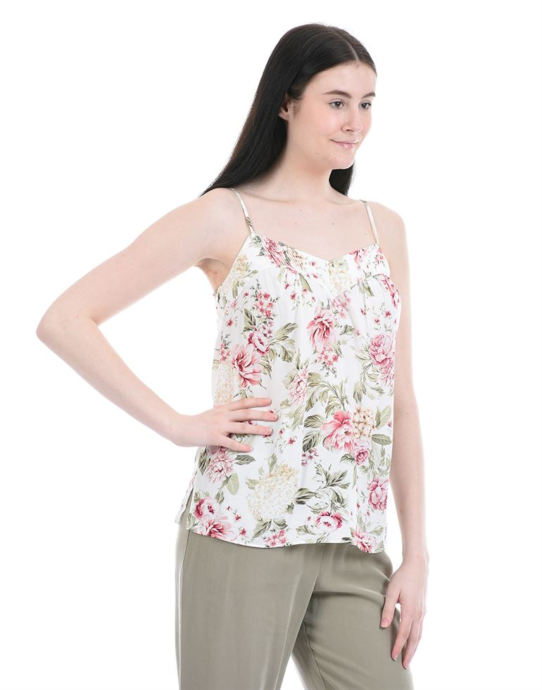 Forever New Women Party Wear White Cami Top