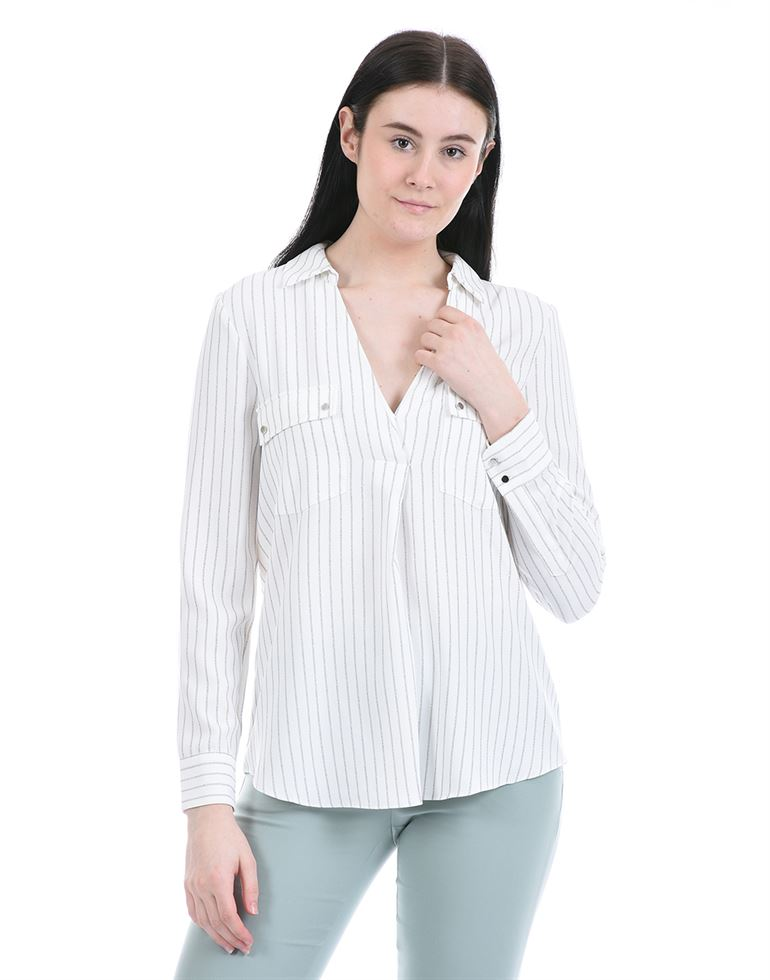 Forevernew Women Casual Wear White Shirt