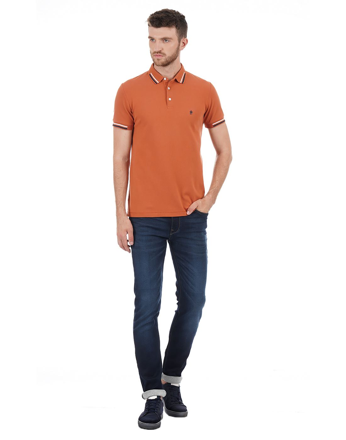 French Connection Men Casual Wear Solid Jeans