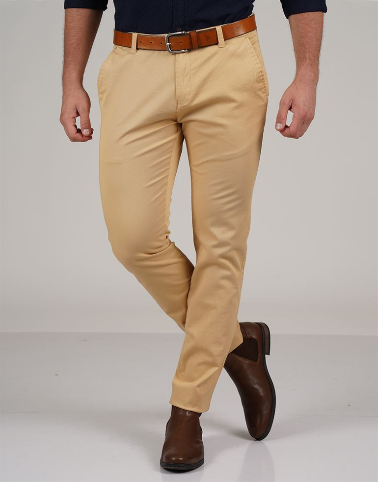 French Connection Men Casual Wear Solid Trouser