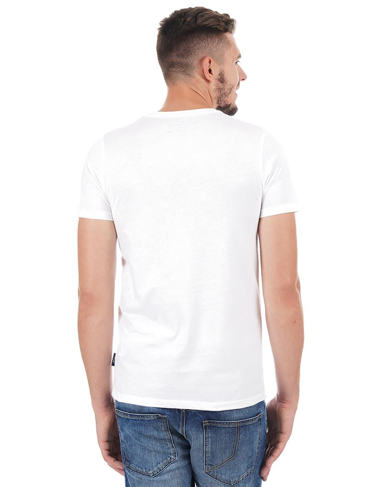 French Connection Men Casual Wear Graphic Print T-Shirt