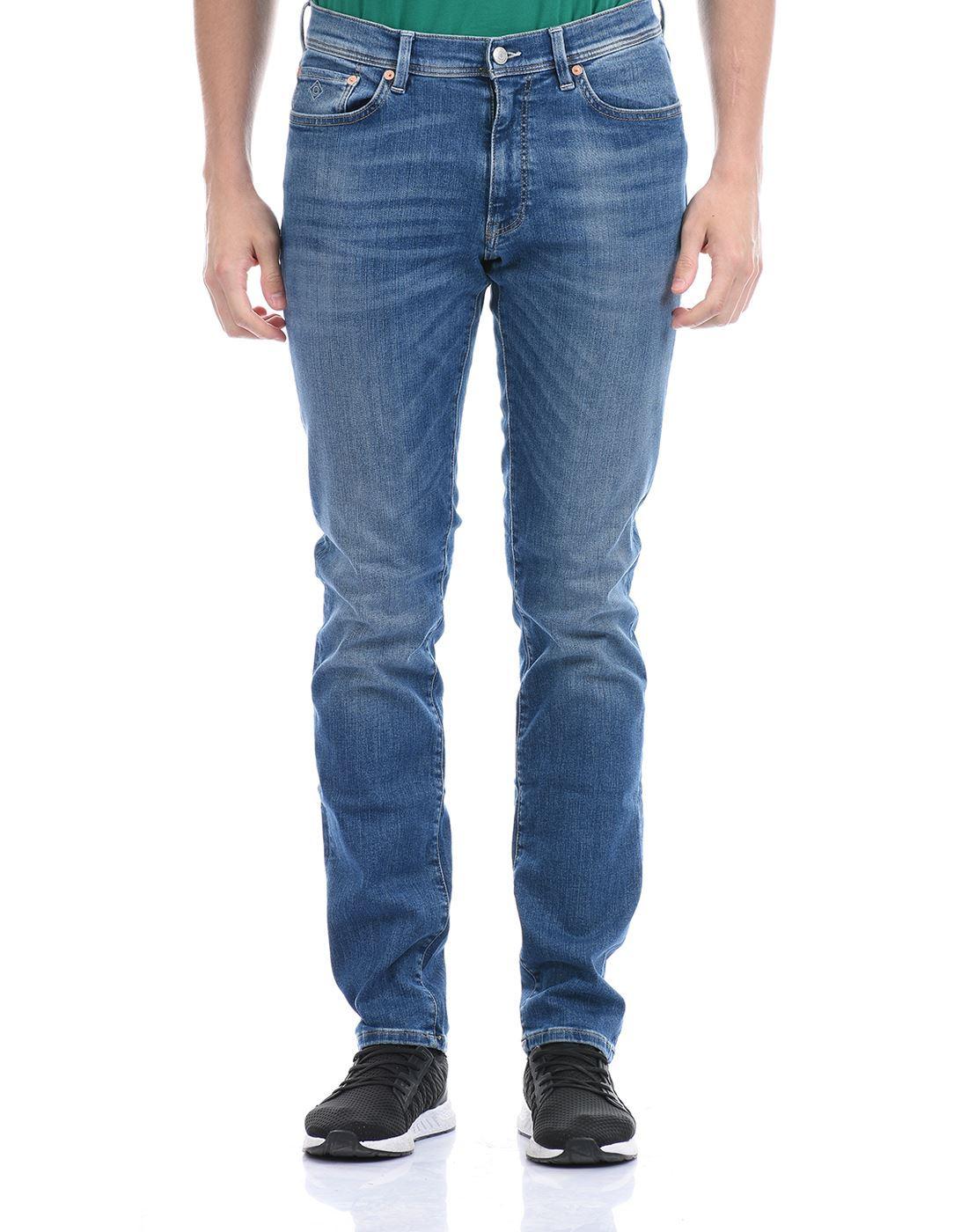 Gant Men Casual Wear Blue Jeans