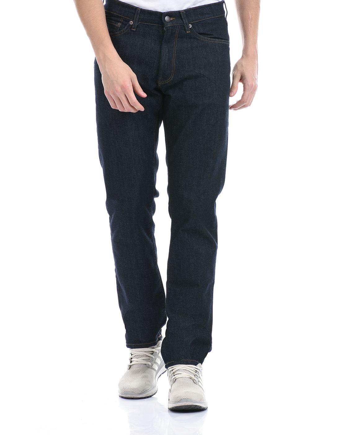 Gant Men Casual Wear Dark Blue Jeans