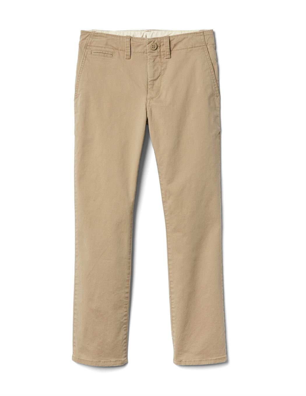 GAP Boys Brown Solid Trousers