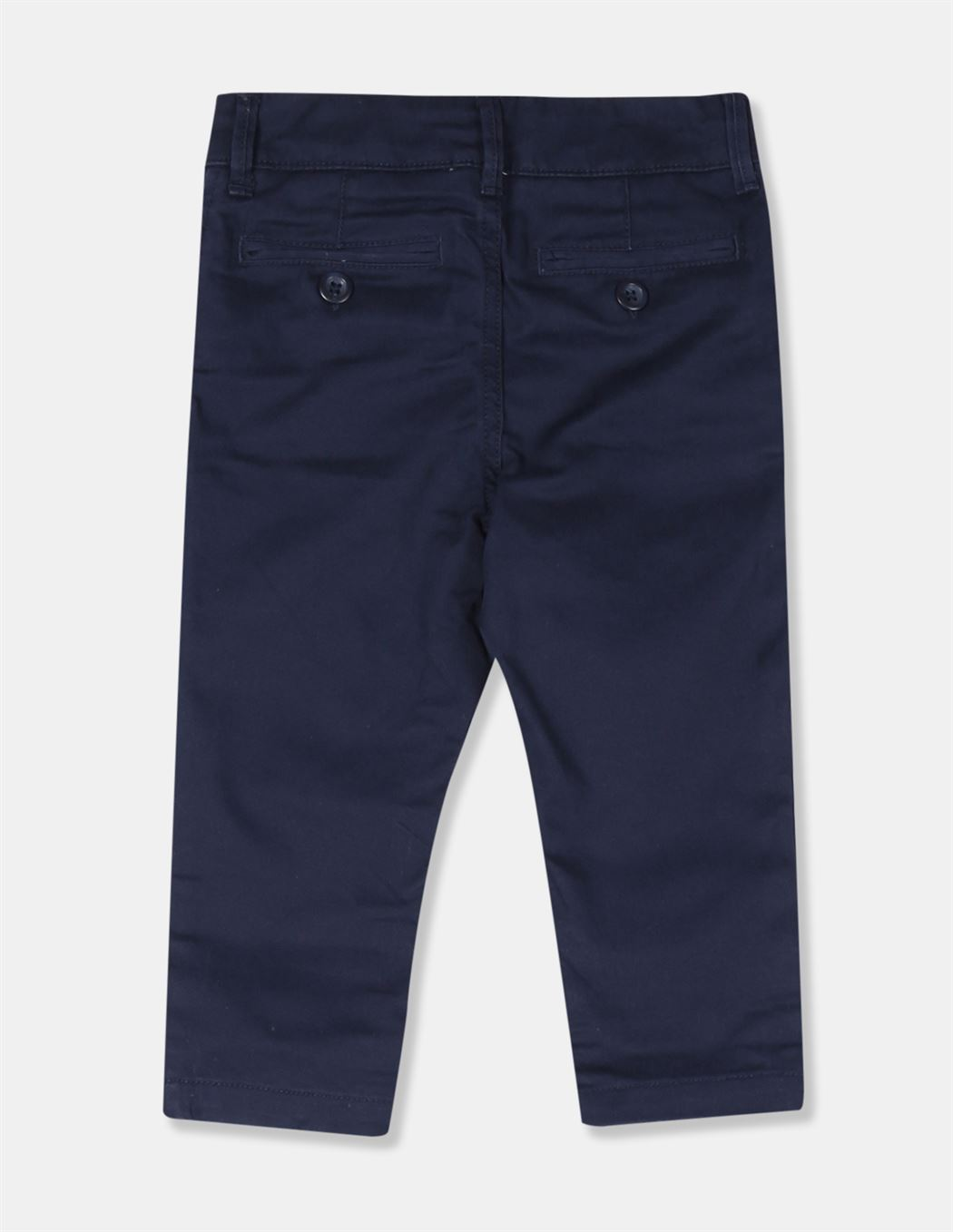 GAP Boys Blue Solid Trousers