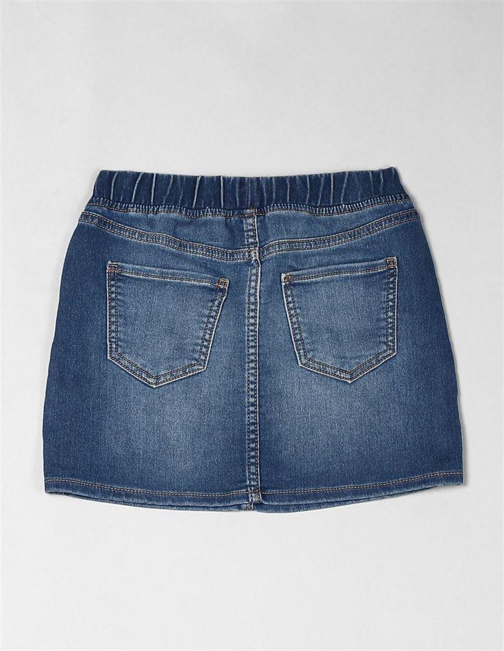 GAP Girls Blue Solid Skirt