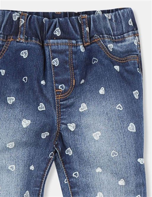 GAP Girls Blue Printed Jeggings