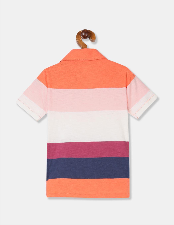 GAP Boys Multicolor Striped T-Shirt