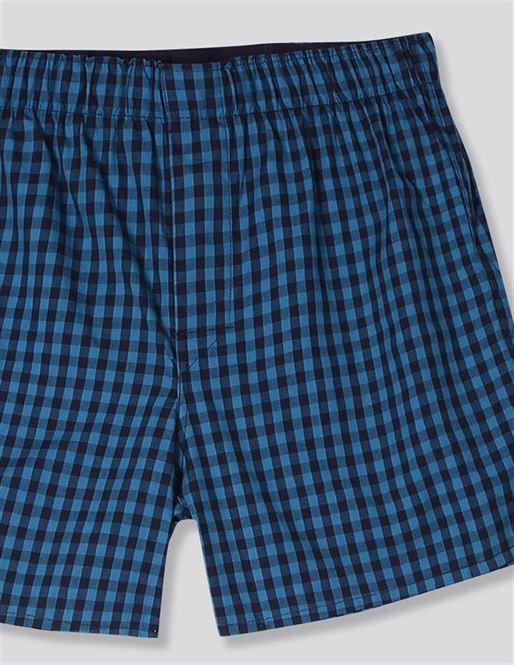 Gap Men Casual Wear Blue Shorts