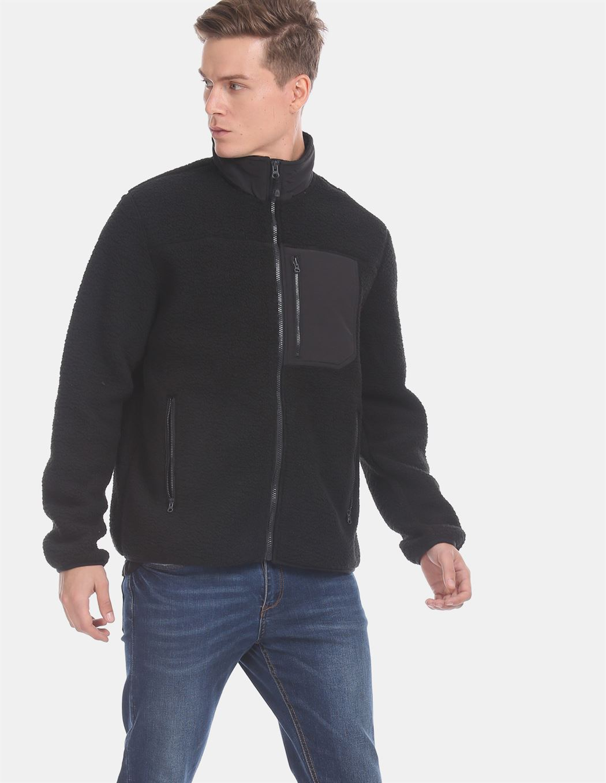 Gap Men Casual Wear Black Jacket