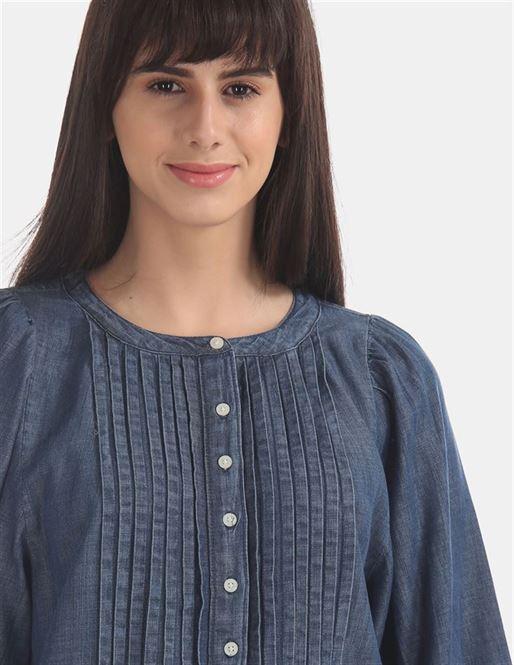 Gap Women's Casual Wear Denim Shirt