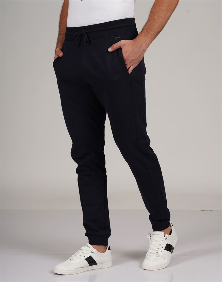 Gas Men Casual Wear Solid Track Pant