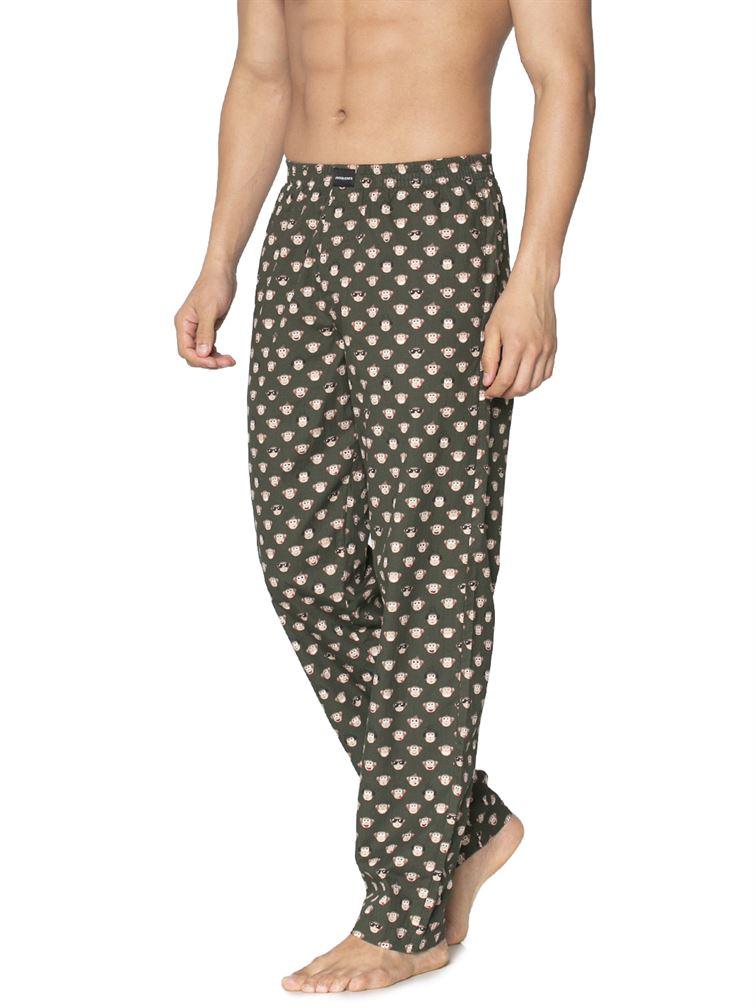 Jack & Jones Men Casual Wear Printed Pyjama