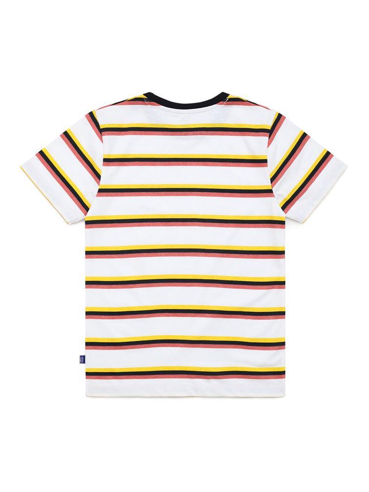 Jack & Jones Junior White T-Shirt For Boys