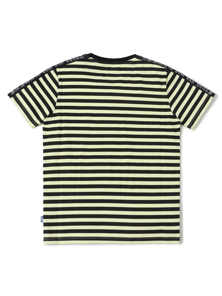 Jack & Jones Junior Black T-Shirt For Boys