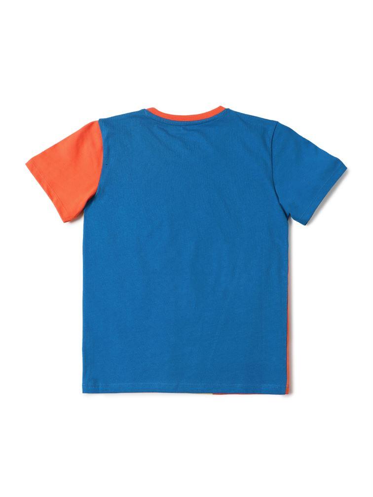 Jack & Jones Junior Blue T-Shirt For Boys