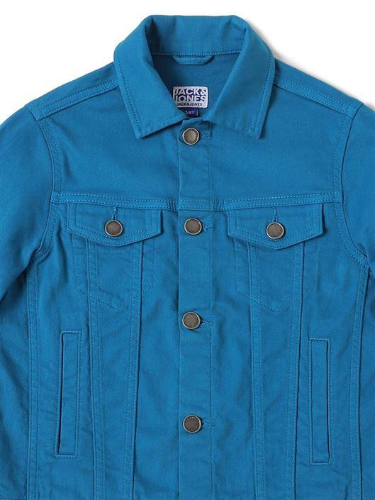 Jack & Jones Junior Blue Jacket For Boys