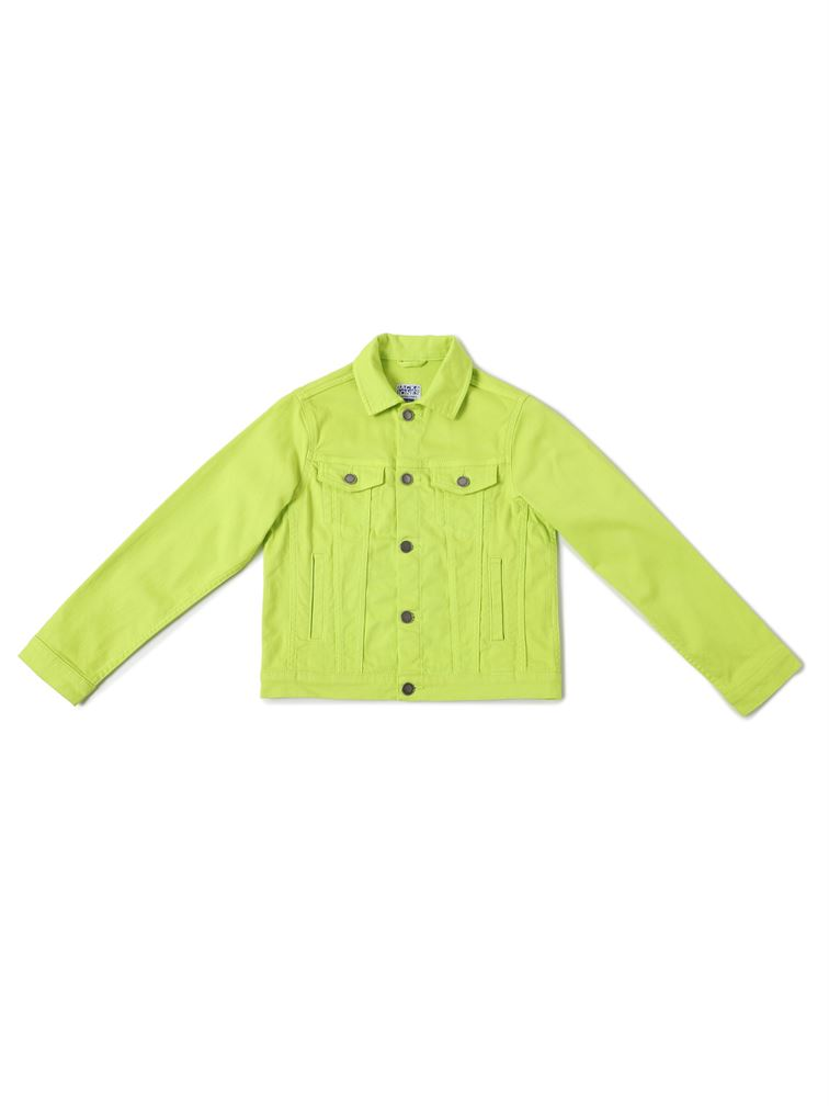 Jack & Jones Junior Green Jacket For Boys