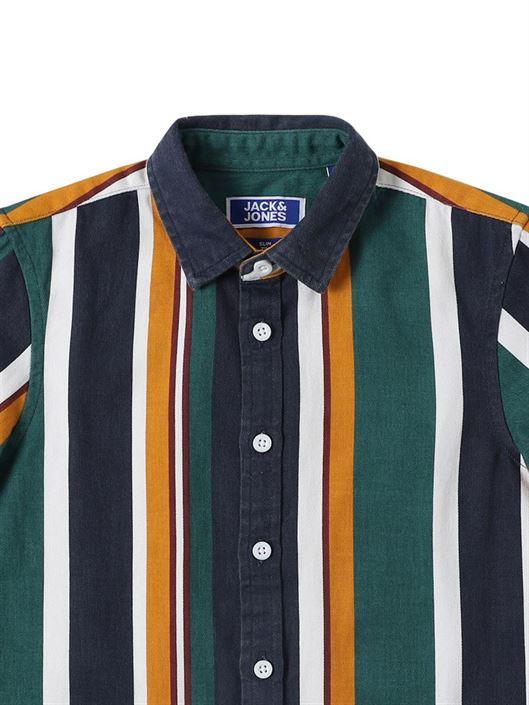 Jack & Jones Junior Green Shirt For Boys