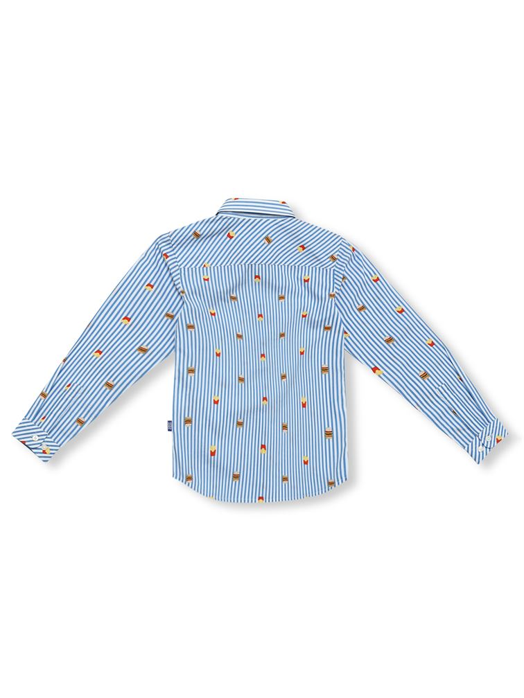 Jack & Jones Junior Blue Shirt For Boys