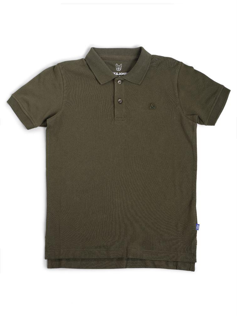 Jack & Jones Junior Dark Green T-Shirt For Boys
