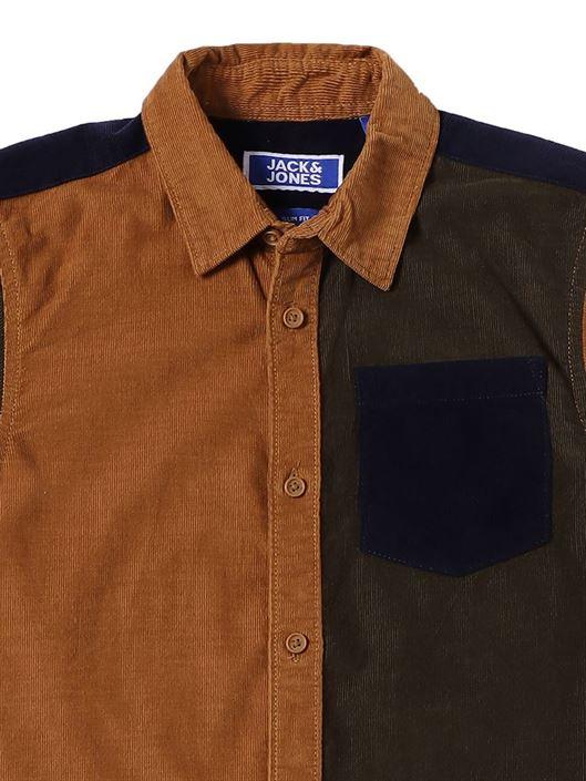 Jack & Jones Junior Brown Shirt For Boys