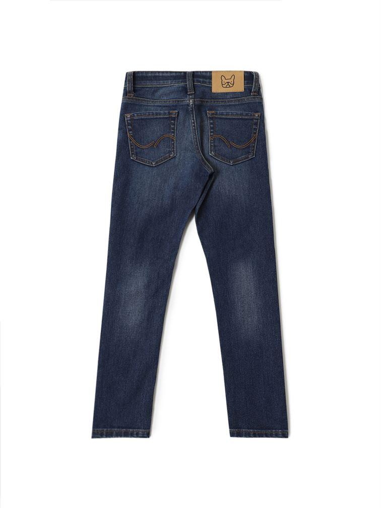 Jack & Jones Junior Dark Blue Jeans For Boys