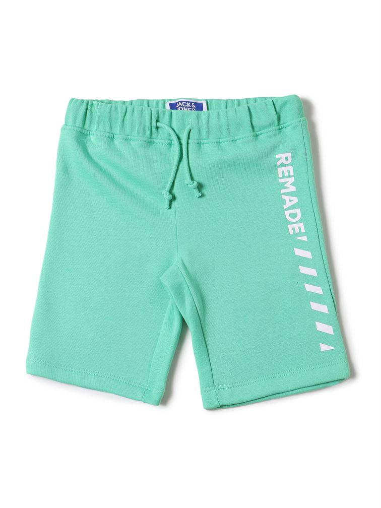 Jack & Jones Junior Green Shorts For Boys