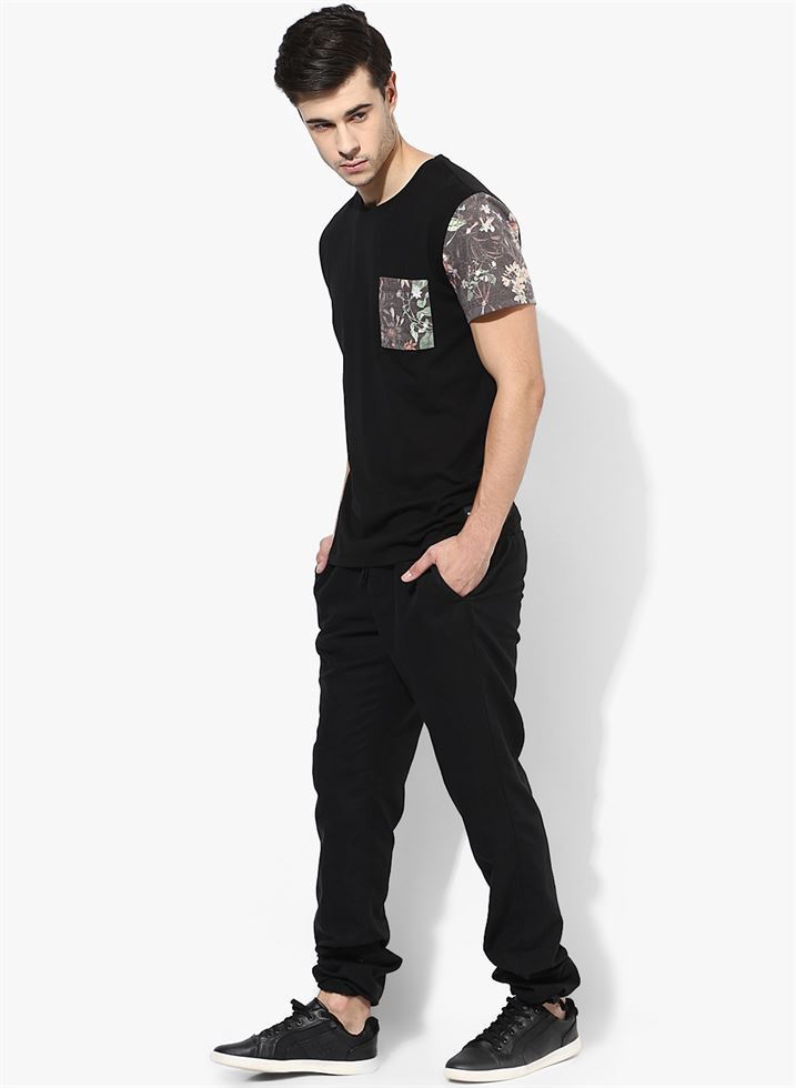 Jack & Jones Men Casual Wear Solid Track Pants