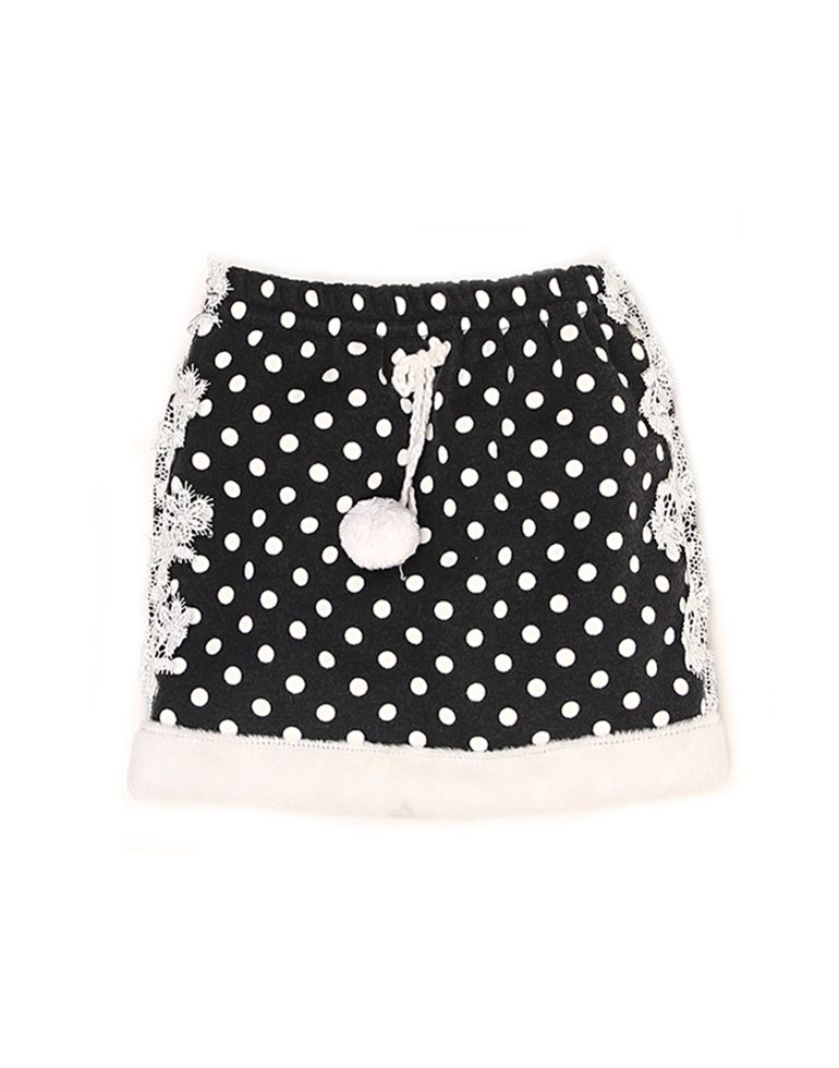 K.CO.89 Girls Casual Wear Printed Skirt