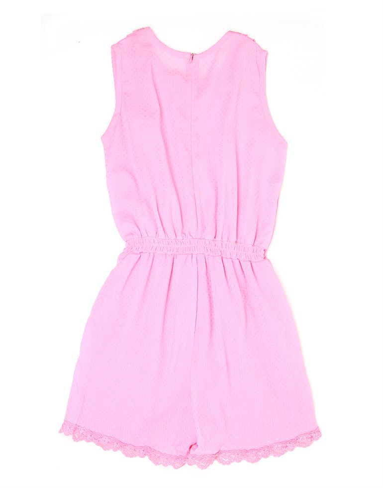 K.CO.89 Girls Casual Wear Solid Jump Suit