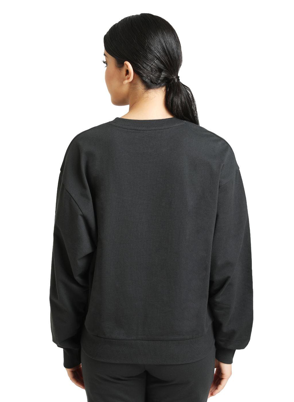 Kazo Women Casual Wear Dark Grey Sweatshirt