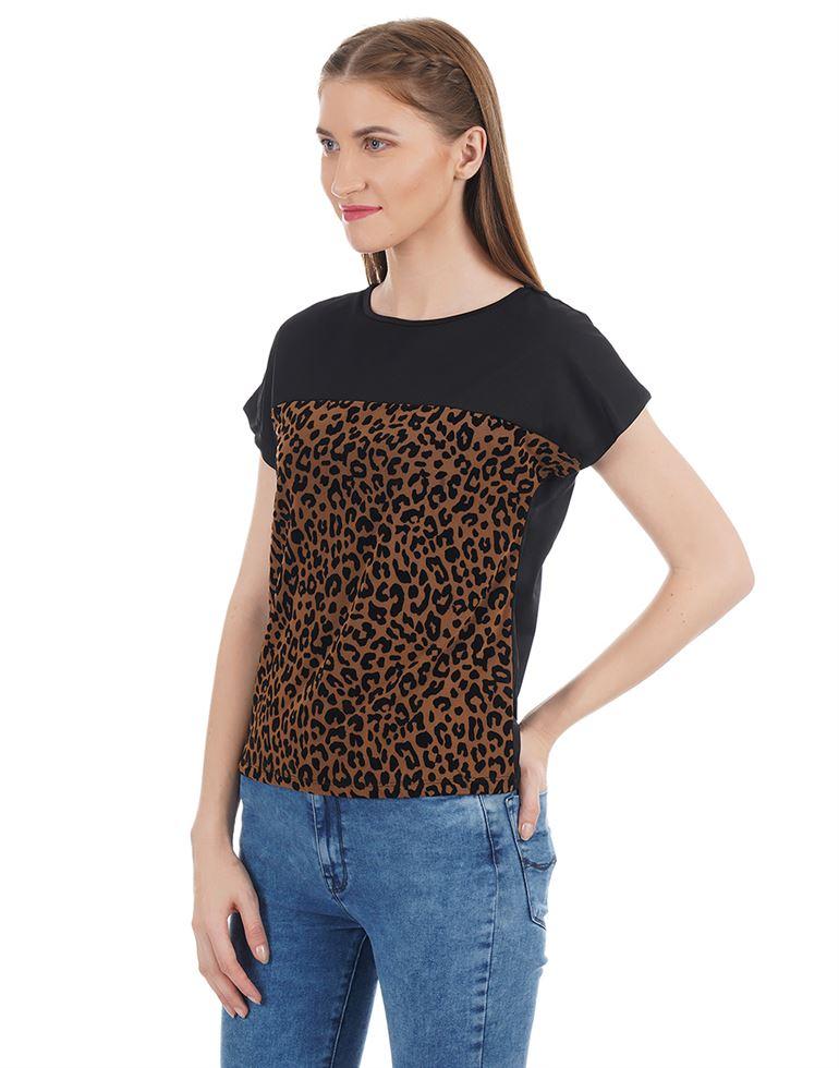 Kazo Women Casual Wear Printed Top