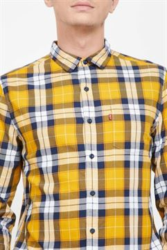 Levi's Men Casual Wear Checkered Shirt