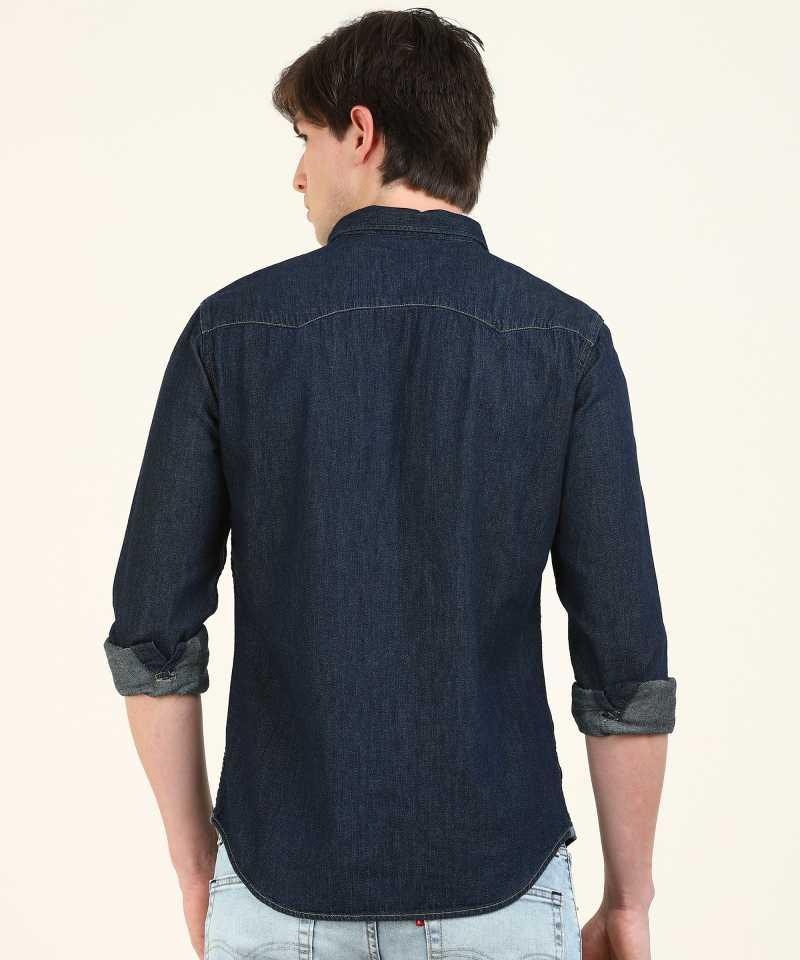 Levis Men Solid Casual Wear Shirt