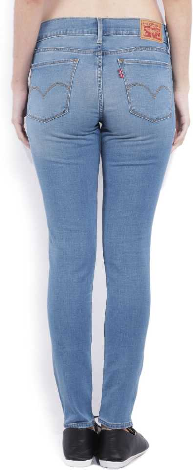 Levis Women Solid Casual Wear Jeans