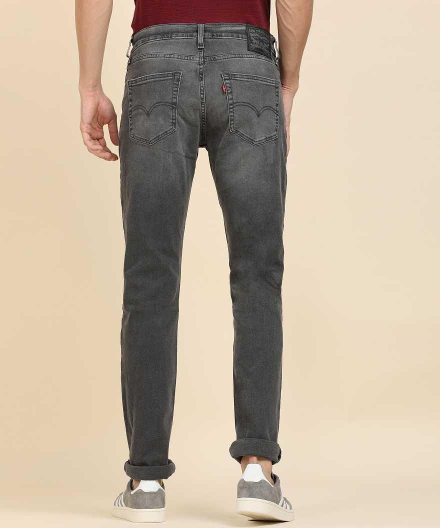 Levi's Men Casual Wear Solid Jeans