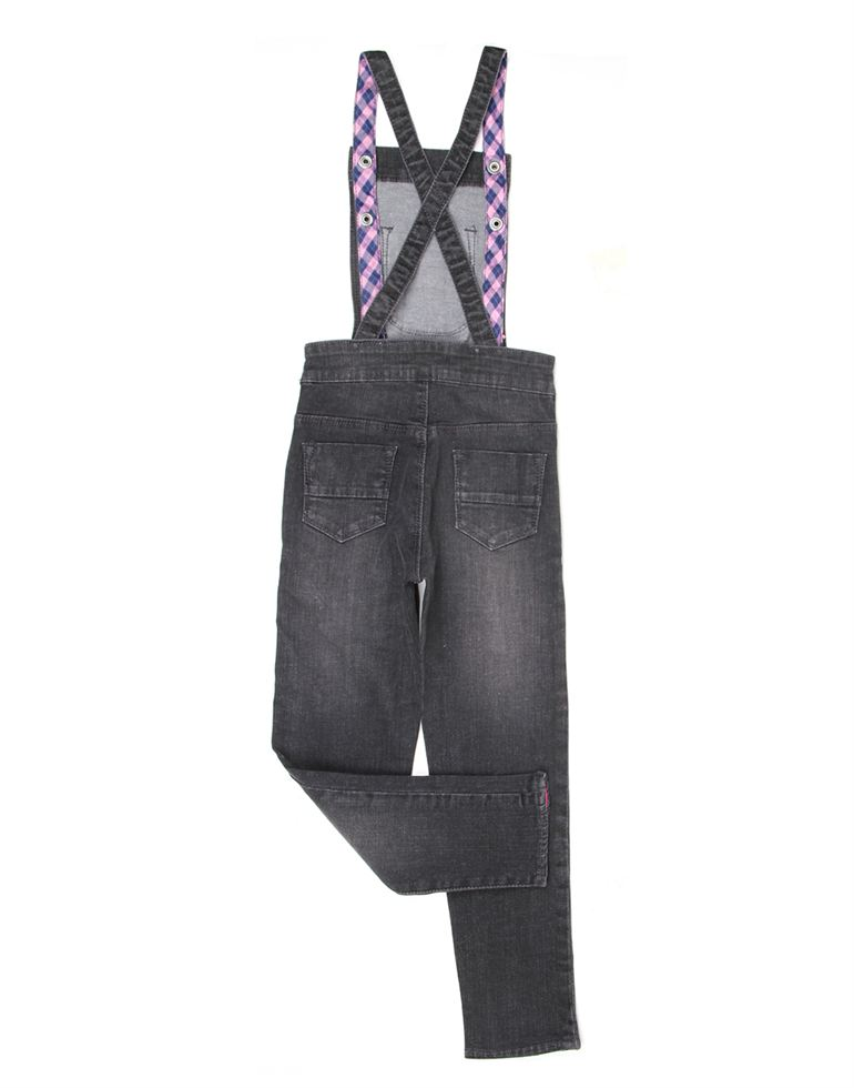 London Fog Girls Casual Wear Solid Jump Suit