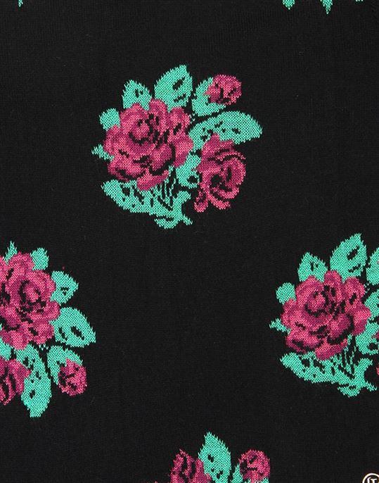 London Fog Girls Casual Wear Floral Print Sweater