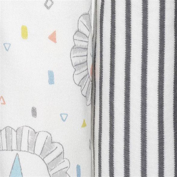 Miniklub Unisex Printed Multicolor Pack of 2 Blankets