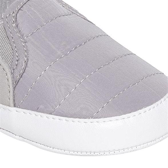 Miniklub Boys Grey Solid Softsole Shoes
