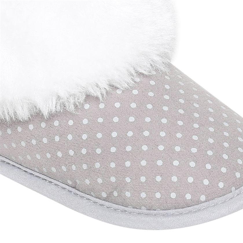 Miniklub Boys Grey Polka Print Softsole Shoes