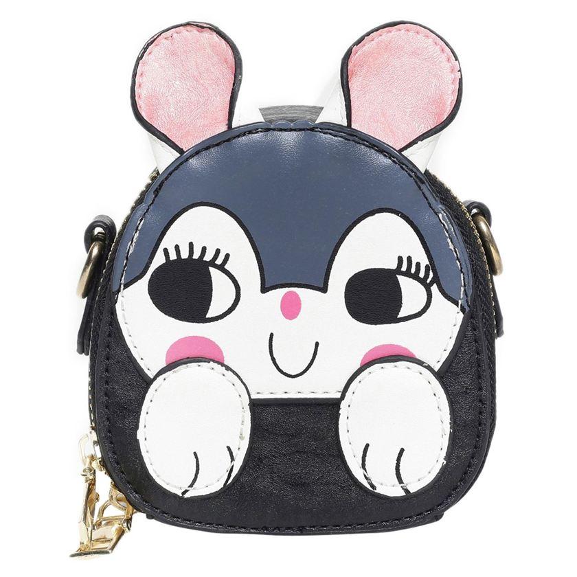 Miniklub Girls Black Printed Bag